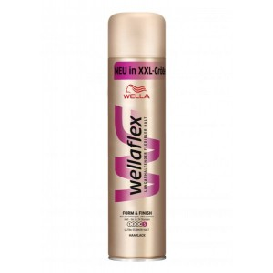 WELLAFLEX  Form and Finish New in XXL Haarlack Ultra  Strong No 5, Λακ μαλλιών Νο 5, Πολύ δυνατή 400ml