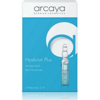 "ARCAYA Hyaluron Plus Wrinkle Refill Best Moisturizer Εντατική ενυδάτωση, ξεκούραστη όψη και ""γέμισμα"" λεπτών γραμμών 5 ampoules x 2ml"