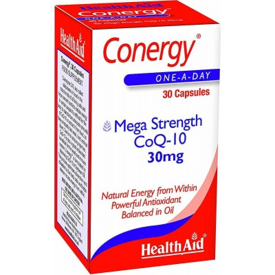 HEALTH AID CONERGY Co-Q10 30mg 30caps