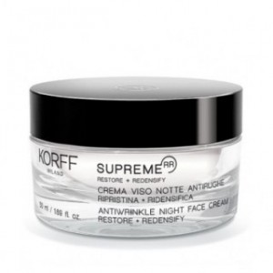 KORFF SUPREME RR ANTIWRINKLE NIGHT FACE CREAM Restore & RedensifyΑντιρυτιδική Κρέμα Νυχτός 50ml