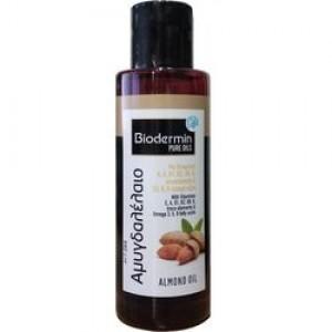 Αμυγδαλέλαιο με βιταμίνες  Α. Ε. Β1, Β2, Β6 και Κ  για ενυδάτωση προσώπου-σώματος & μαλλιών 120ml