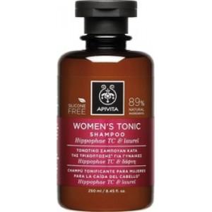 APIVITA Women's Tonic Shampoo Τονωτικό Σαμπουάν κατά της τριχόπτωσης για γυναίκες με ιπποφαές & δάφνη 250 ml