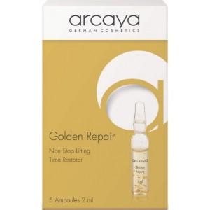 ARCAYA Golden Repair Non Stop lifting Time Restorer Αμπούλες για Αντιγήρανση και Αναδόμηση 5 Ampoules X 2ml