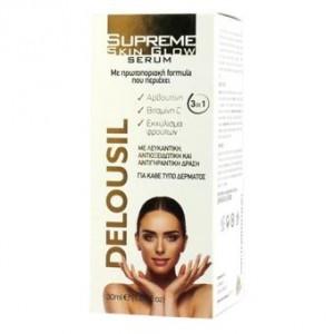 Delousil  Λευκαντικός Ορός Supreme Skin Glow Serum 30ml