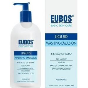 Eubos Liquid Blue 400ml Υγρό Καθαρισμού Προσώπου/Σώματος για Καθημερινή Χρήση