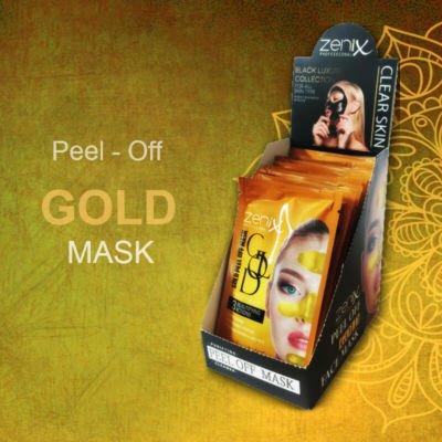 Xρυσή μάσκα-Gold Peel off Mask Professional  για καθαρισμό στιγμάτων και κηλίδων  15gr