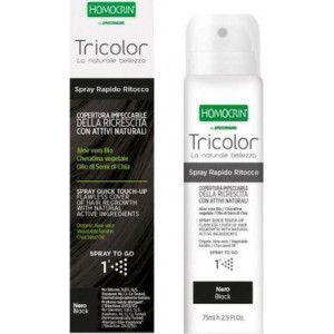 Homocrin Tricolor Spray Quick Touch Up Nero/Μαύρο 75ml