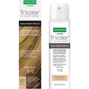 Homocrin Tricolor Spray Quick Touch Up Ξανθό Ανοιχτό 75ml