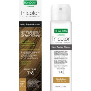 Homocrin Tricolor Spray Quick Touch Up Ξανθό Σκούρο 75ml