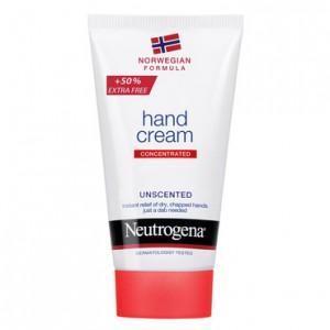 NEUTROGENA Hand Cream +50% Extra free Uncented Κρέμα χεριών χωρίς άρωμα75ml