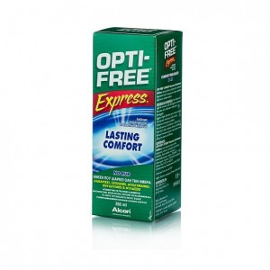 OPTI-FREE EXPRESS Διάλυμα Απολύμανσης Πολλαπλών Χρήσεων για φακούς επαφής 355ml
