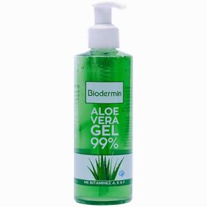 Aloe Vera Biodermin Gel 99% Αλόη Βέρα με Βιταμίνες A, E & F 200ml