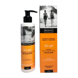 Biodermin Sunscreen Body Emulsion Αντηλιακό SPF50 175ml