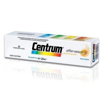 CENTRUM A to Zinc 20 αναβράζοντα δισκια