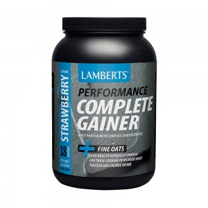 LAMBERTS Performance ALL-IN-ONE Whey Protein Strawberry(+ Glutamine, Creatine & Beta Alanine) 1450gr