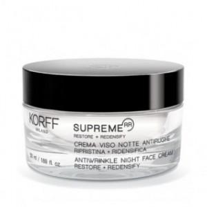 Korff Supreme RR Antiwrinkle Night Face Cream Restore & RedensifyΑντιρυτιδική Κρέμα Νυχτός 50ml