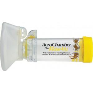 AeroChamber- Trudellmed-Plus Medium Mask - αεροθάλαμος με βαλβίδα 1-5 Χρόνων 1 τεμάχιο