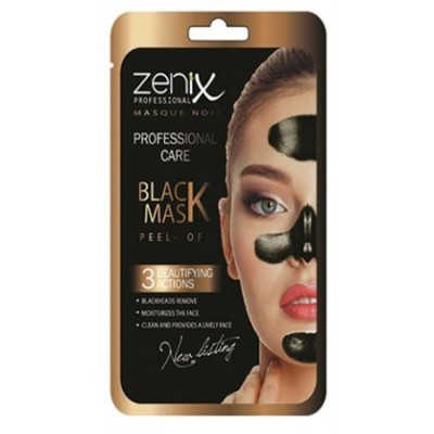 Black Mask Zenix Professional Care Purifying Peel...